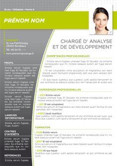 Modèle de CV Batur Vert Gris Resume Design Template, Resume Templates, Cv Manager, Creative Cv Template, Cv Original, Portfolio Samples, Infographic Resume, Letterhead Design, Cv Design
