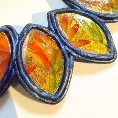 Polymer Clay Tutorial | Gessetti Chalks , Paste Polimeriche e Foglia Oro Oggi vi mostro come ho realizzato dei componenti...