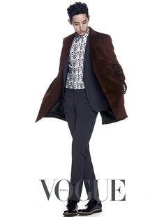 Lee Soo Hyuk - Vogue Magazine September Issue '14