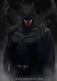 Batman by SourAcid.deviantart.com on @DeviantArt