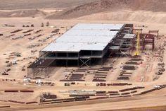 Inside the Tesla Gigafactory