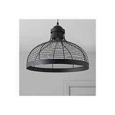 Baici Wire Black Pendant Ceiling Light | Departments | DIY at B&Q