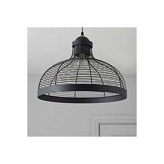 Baici Wire Black Pendant Ceiling Light | Departments | DIY at B&Q