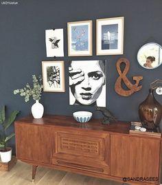 Det er mange fine farger i det nyeste LADY-fargekartet, men en skiller seg… Bedroom Design Inspiration, Interior Inspiration, Jotun Lady, Magazine Deco, Favorite Paint Colors, Favorite Color, Deco Blue, The Doors, Home Bedroom