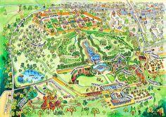 Alnwick Garden Map