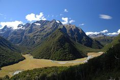 Humboldt Mountains, Southern Alps, South Island, New Zealand