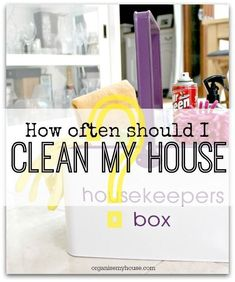 How often should I clean my home? 3 great ways to do it explored - which do you prefer?