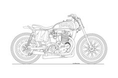 Motorcycle-line-drawing-05