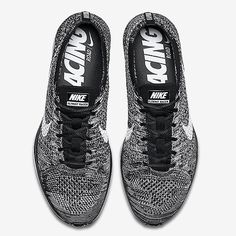 "This ""Oreo"" Nike Flyknit Racer is on its way!  Hit the link in our bio for details."