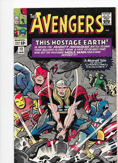 Avengers Silver Age Marvel Comics 1st appearance of Monk Keefer 1965