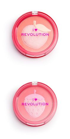 I Heart Revolution Fruity Blusher and Highlighters Are Too Cute – Musings of a Muse Drugstore Makeup Dupes, Beauty Dupes, I Heart Makeup, Makeup Package, Coastal Scents, High End Makeup, Highlighters, Blusher, Cute Makeup