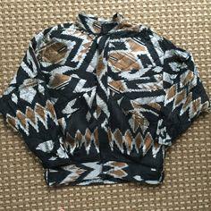 Thai silk jacket 100% thai silk jacket by Bobetta R. No size tag, but fits like a medium/large. EUC. Bobetta R Jackets & Coats