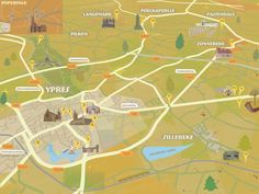 Britta Stenhouse - Imagineear map - http://www.folioart.co.uk/illustration/folio/artwork/imagineear-map/