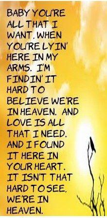 Bryan Adams - Heaven via Jennifer Rios Music, fun, and inspiration… Country Song Lyrics, Song Lyric Quotes, Country Songs, Music Quotes, Cool Lyrics, Music Lyrics, Music Songs, Music Music, Music Love