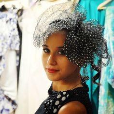 Una nuvola a pois... #ragazza #livorno #hatsummer #hat #style #fashion #womenfashion #concorso #miss #fashion #portrait #love #instalike #madeinitaly #arte #artigianato #artigian #ragazzaitaliana #girl #love #instalike #instamood #toscana