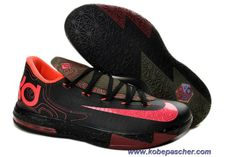 new styles aa886 7ef5a Girls Nike KD 6 Meteorology Black Atomic Red-Medium Olive-Fire Red For  Sale,Discount shoes,cheap sneakers