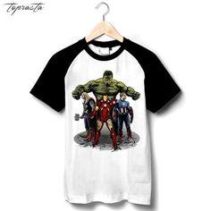 Fireproof Adult Ringer T Shirt XL Sons of Gotham Superman