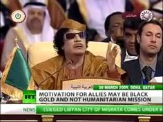 Gaddafi's Gold Dinar Currency Prompted NATO Invasion of Libya - YouTube