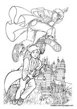 Harry Potter free printable coloring pages for kids Free Printable Coloring Pages, Coloring Pages For Kids, Harry Potter Coloring Pages, Harry Potter Free, French Girls, Printables, Colour, Art, Color