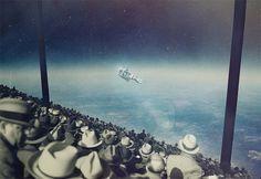 Les Collages Surréalistes de Joseba Elorza - Chambre237