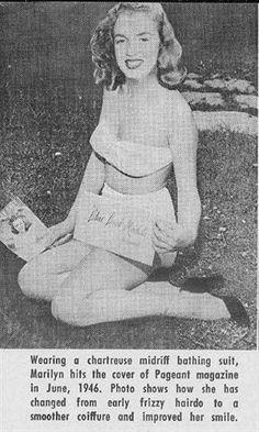 1946 ~ Marilyn Monroe aka Norma Jeane Baker