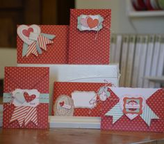 Stampin' Up! demonstrator   I used My little Valentine and simply sent