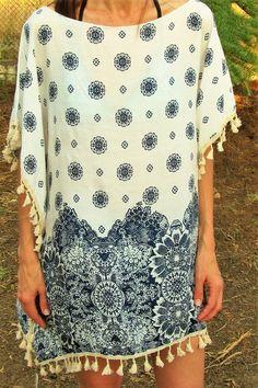 Poncho elegante de mujer- 12,90€- CMK Cover Up, Beach, Dresses, Fashion, Beach Outfits, Blue Nails, Elegant, Accessories, Blue Prints