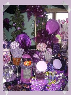 Purple Candy Party! woohoogal