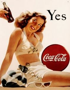 pin up girl and coke!! what more could you ask for :)