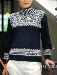 for pic only druty-nowe - Danuta Zawadzka - Álbumes web de Picasa Norwegian Knitting, Fair Isle Knitting, Knitting Charts, Vintage Knitting, Baby Sweaters, Knitting Designs, Cardigans For Women, Knitwear, Sweater Weather