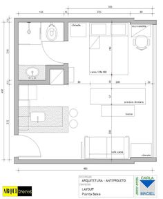 blog de decoração - Arquitrecos: Projeto Arquitrecos - Soluções para apartamento de 25 m2