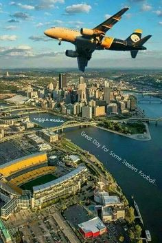 A great day for some Steelers football! Pittsburgh Steelers Wallpaper, Pittsburgh City, Pittsburgh Steelers Football, Pittsburgh Sports, Dallas Cowboys, Kansas City, Football Team, Pitsburgh Steelers, Here We Go Steelers
