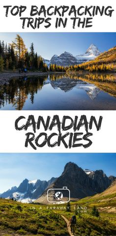 Amazing Places To Visit In Alberta Canada Jasper National - The 10 best day hikes in canada