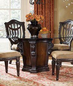 Fairmont Designs Grand Estates 5 Piece Dining Table And Chairs Set   Ivan  Smith Furniture   Dining 5 Piece Set Arkansas, Louisiana, Texas Furniture,  ...