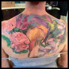 Tattoo Artist - Philip Garcia - Nature tattoo