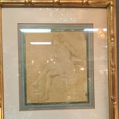 Gorgeous Italian drawings with decorative frame and custom mat  #fabfinds #musthave #instagood #lajolla #sandiego #shopping #california #decor #giftideas #shoplocal #lovelocal #homedecor #furniture #homefurnishings #interiordesign #vintage #antiques #home #garden #girardavecollection #girardavenuecollection #retailtherapy #MondayMotivation #art #drawing #original #italian