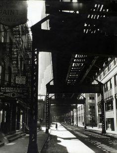 Overpass: Manhattan, 1936 by Bernice Abbot
