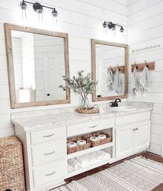 Home Renovation, Home Remodeling, Bathroom Remodeling, Bathroom Renos, Small Bathroom, Shiplap Master Bathroom, Bathroom Ideas White, Bathroom Plans, White Bathrooms