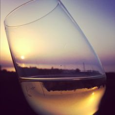 #Pantelleria sunset in a glass of #wine