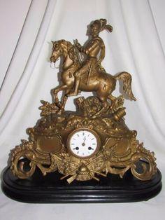 Datant Ansonia manteau horloge