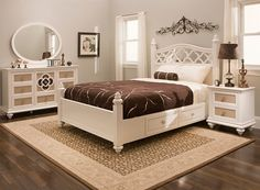 Paris Queen Storage Platform Bed | Queen Beds | Raymour and Flanigan Furniture