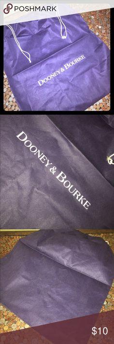 Dooney & Bourke XXL Drawstring Dust Bag Dooney & Bourke XXL Drawstring Dust Bag. Never Used. 25 x 28. Questions Welcome Thanks For Looking. Dooney & Bourke Bags Travel Bags