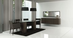 Mesa de jantar * Conjunto cadeiras * Consola * Moldura espelho * Conjunto candeeeiros