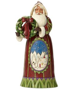 Jim Shore (Only at Macy's) Santa Collectible Figurine - Holiday Lane - For The Home - Macy's