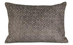 Velvet Keys Charcoal Pillow - Pillows - Accessories   Jayson Home
