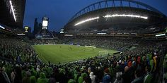 CenturyLink Field | Seattle Sounders  Loudest stadium in the MLS and NFL! I bleed Rave Green!
