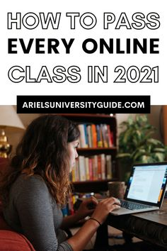 Do you need some online class tips? Don't worry my blog post about how to pass every online class in 2021 gives details on how to stay organized with online classes, study tips, and online school tips. These tips probably probaly aren't on college tips tiktok or college tiktok! Other topics I discuss include my online school routine, college tips and tricks, univesity hacks, and tips for online classes. University Guide, College Life Hacks, College Tips, Study Hacks, Study Tips, Freshman Quotes, Homesick College, Nursing School Tips