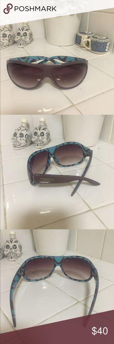 Missoni sunglasses Greyish purple missoni sunglasses without case Missoni Accessories Sunglasses