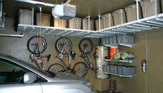 Fall is a great time to organize the garage and put away summer & prepare for winter.