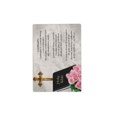 Shop Bible & Roses Goddaughter Plaque created by Lastminutehero. Goddaughter Gifts, Daughter Of God, Holi, Roses, Bible, Biblia, Pink, Holi Celebration, The Bible